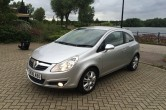 2008 Vauxhall Corsa 1.2 16V Design 3 dr Manual Petrol