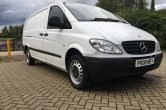 2008 Mercedes Vito Van 109 CDi Extra long wheelbase – NO VAT