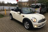 2009 MINI Cooper Convertible 1.6 Petrol 6 speed Manual