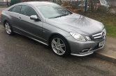 2009/2010 Mercedes E-Class E350 CDI Blue Efficiency Sport  Auto 7G Tronic Gearbox